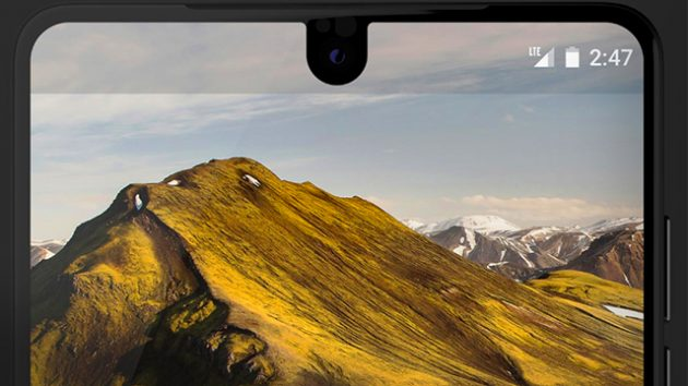 Essential Phone PH-1 bezel less screen
