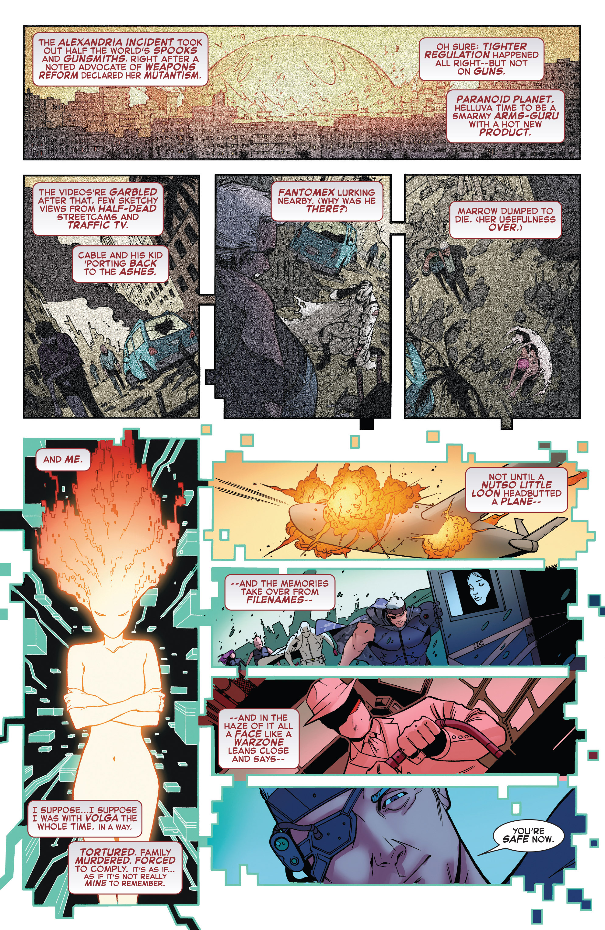 Read online X-Force (2014) comic -  Issue #6 - 9