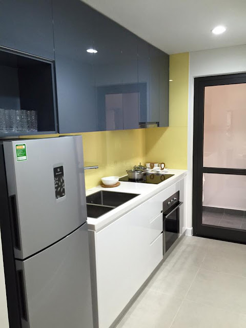 Thiết kế bếp Goldsilk Complex
