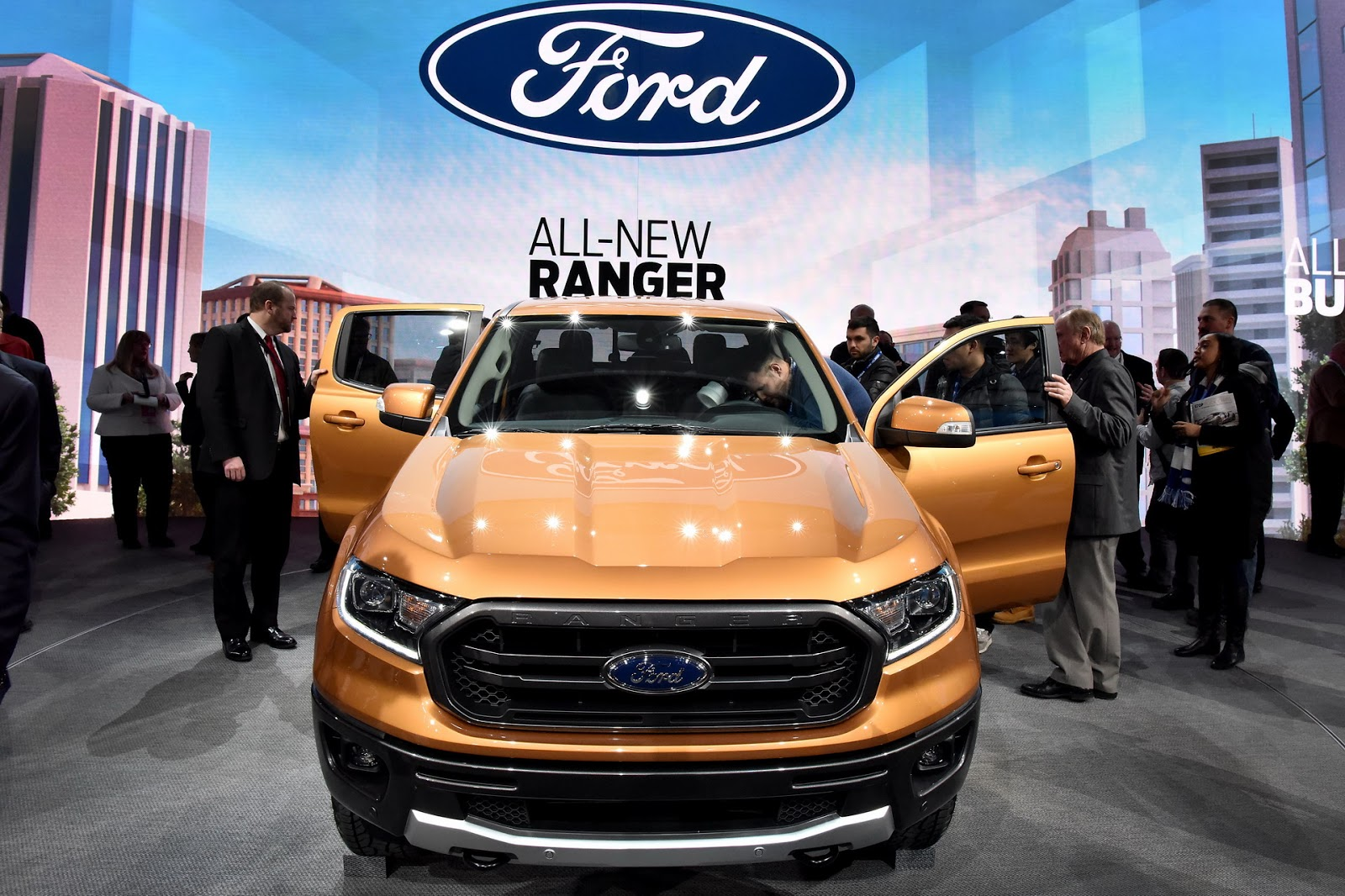 Ford Ranger Returns To America With A Turbo D Four