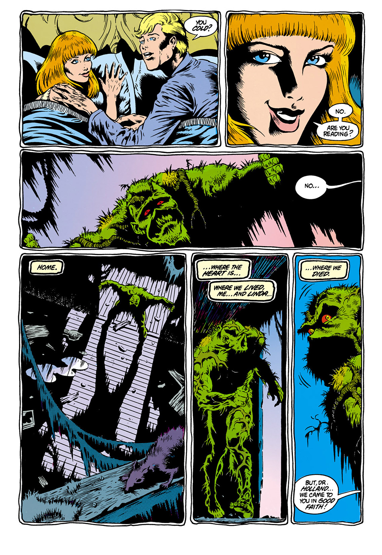 Swamp Thing (1982) Issue #28 #36 - English 13