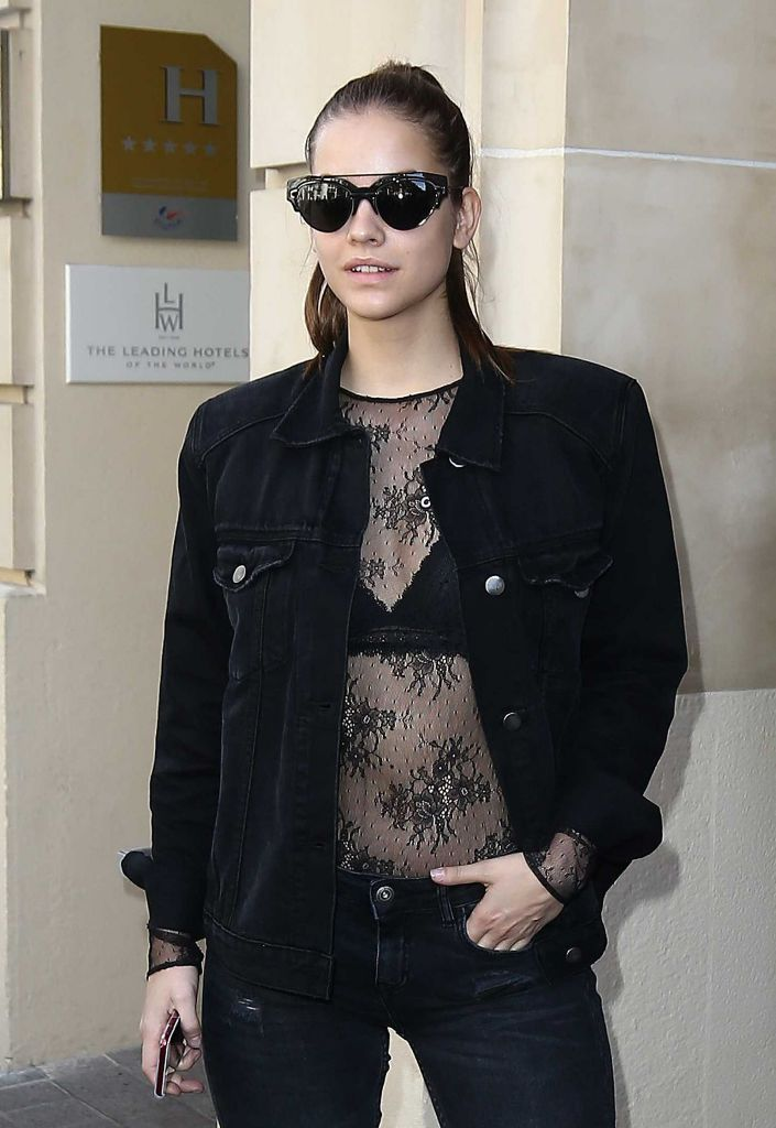 Barbara Palvin Style and Fashion Inspiration in Paris
