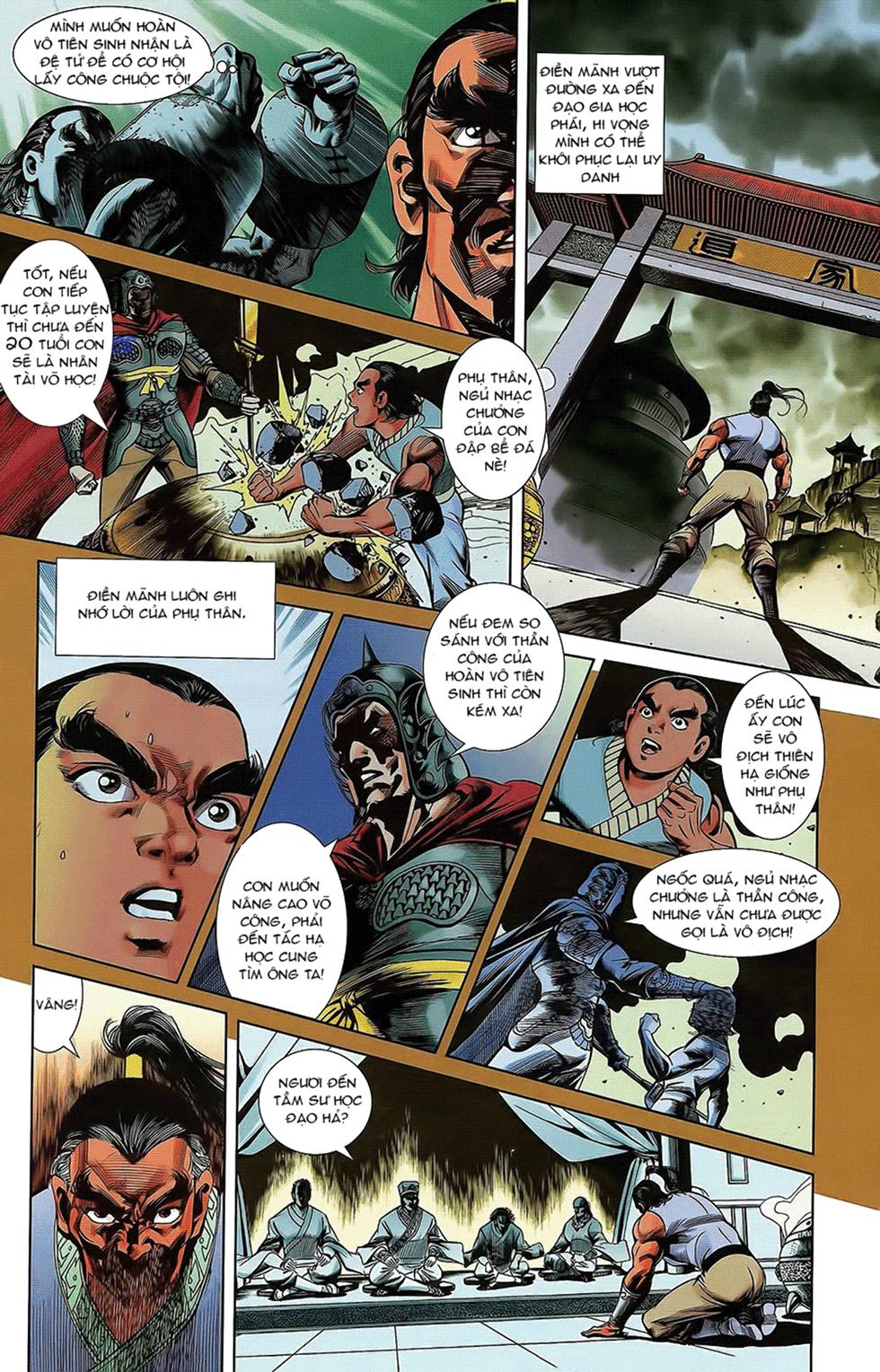 Tần Vương Doanh Chính chapter 16 trang 11