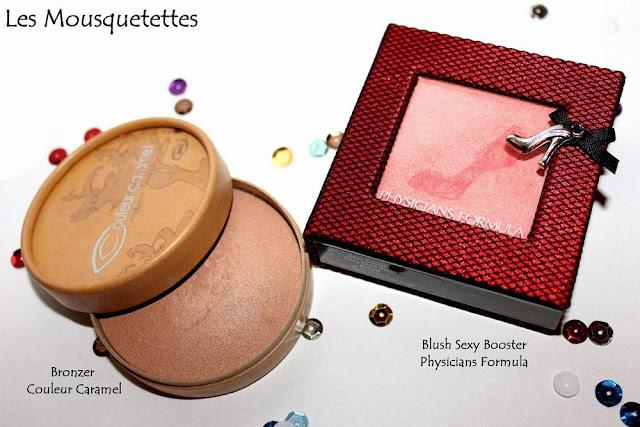Favoris Make up Couleur Caramel, Physicians Formula - Blog beauté Les Mousquetettes©