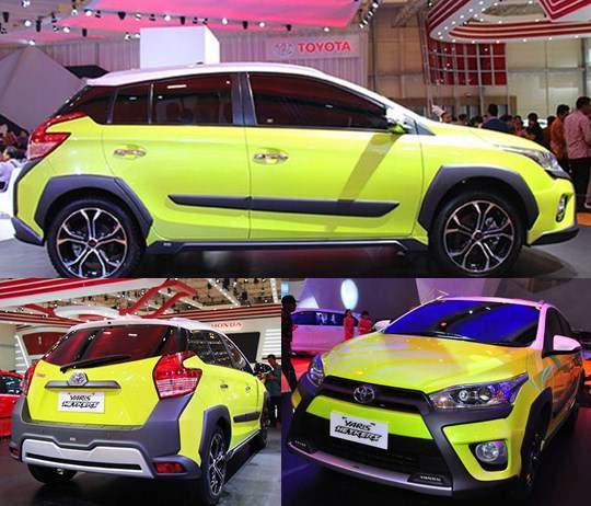Spesifikasi dan Harga Toyota Yaris Heykers