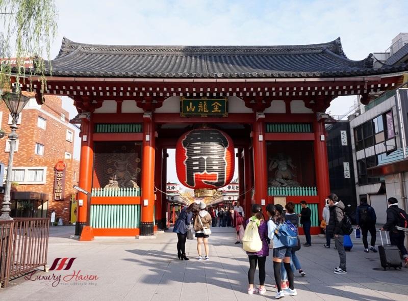 tokyo must visit places sensoji asakusa kannon temple