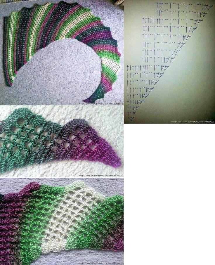 Delicadezas en crochet Gabriela: Chalina