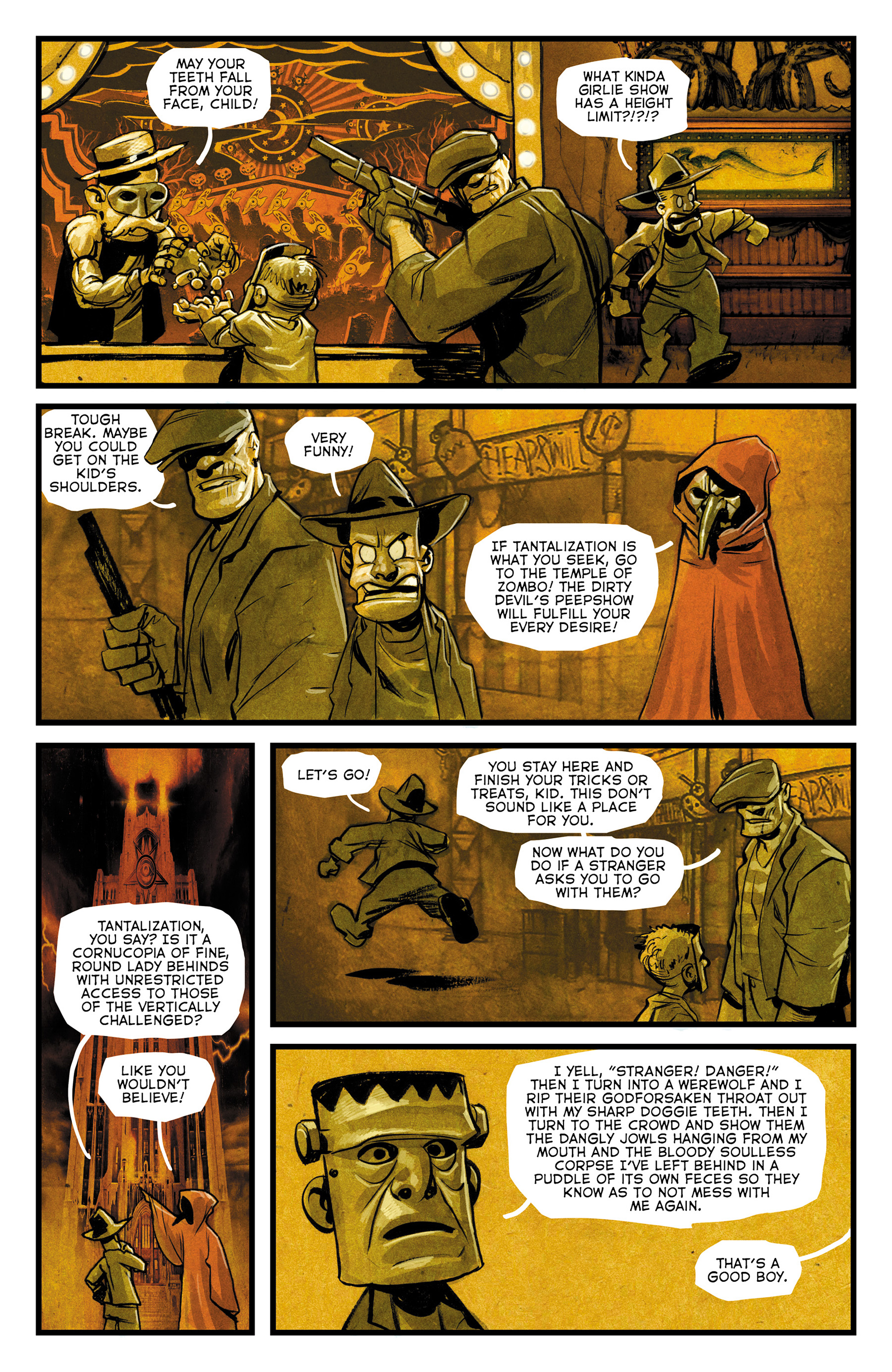 Read online The Goon: Theatre Bizarre comic -  Issue # Full - 12