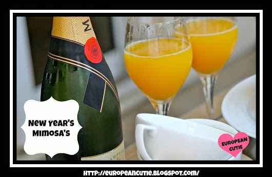 European Cutie ♥: New Year's Mimosa's ♥
