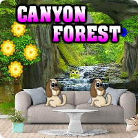 AvmGames Canyon Forest Escape Walkthrough