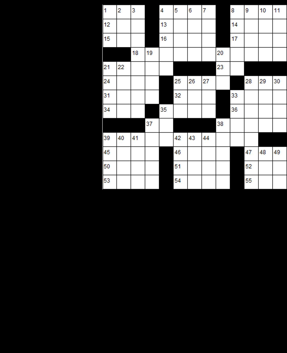 It's About TV: Crosswords!