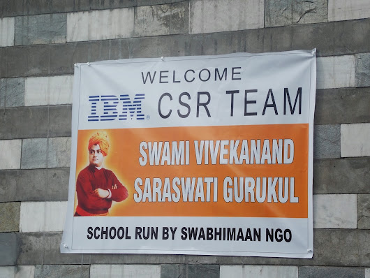 Let the children -future generation- rise&shine! - IBM CSC India 22 Team Volunteer Day