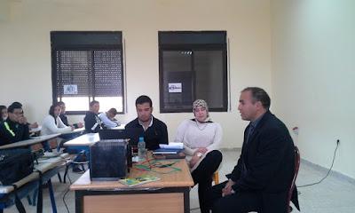 المكلف بمديرية فجيج يعطي انطلاقة تأسيس مركز ( أكسيس ) للغة الانجليزية بثانوية محمد عابد الجابري ببوعرفة