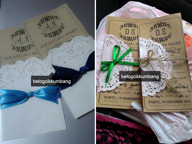 Diy Kad Kahwin Craft Paper