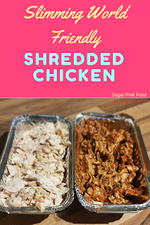 Slimming world shredded chicken recipe