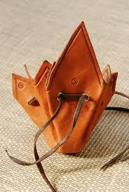 Bolsa de cuero artesana