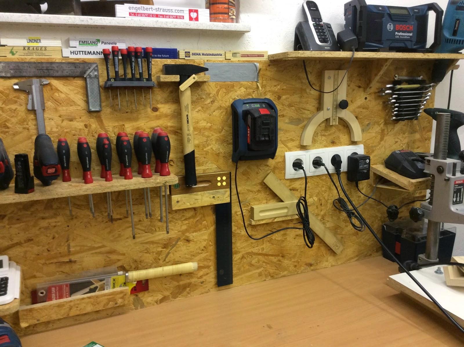holzwurmtom.de: french cleat aufhängesystem für handwerkzeuge