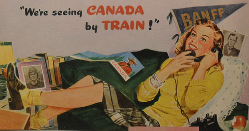 1950s Canadian ad