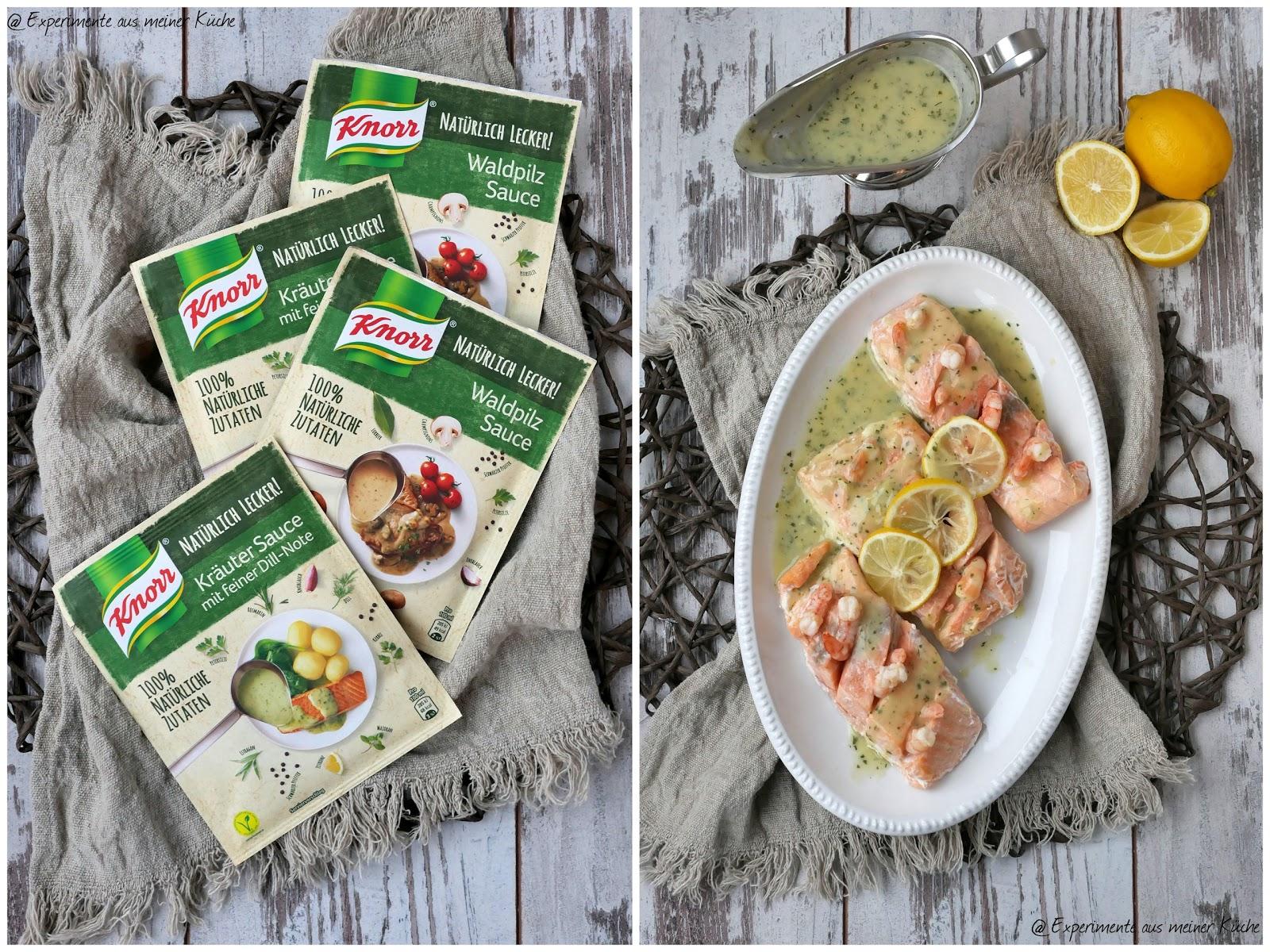 Elegant Backofenlachs Mit Garnelen Kräuter Sauce | Essen | Kochen | Rezept