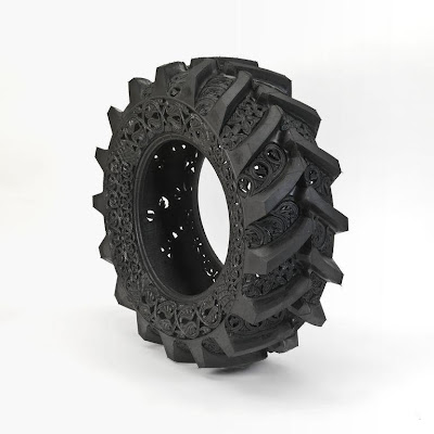 Cool and Creative Hand Carved Car Tires (15) 1