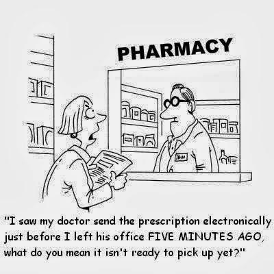 RPh in Blue Heels: Pharmacist (noun) [fahr-muh-sist]