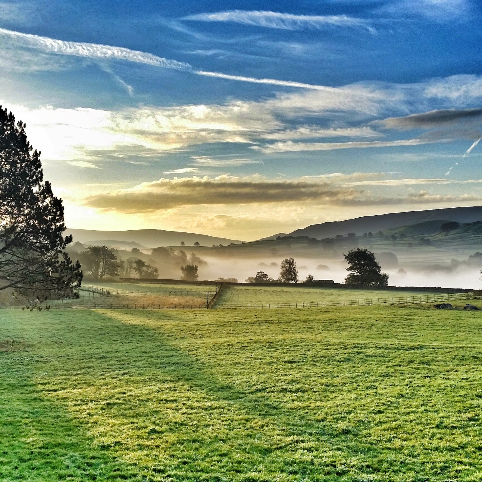 Yorkshire Dales mist
