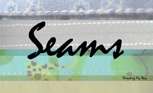 Learn how to sew the many different types of seams - plain, welt, french, flat felled ~ Threading My Way