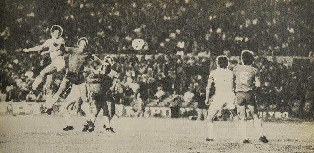 Uruguay y Chile en Copa Juan Pinto Durán 1976/1977, partido de vuelta