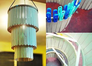 cara membuat lampu hias dari barang bekas