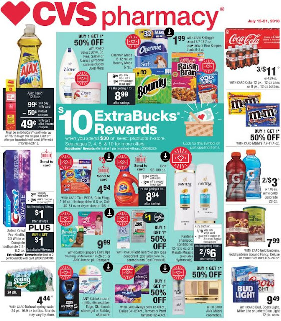 CVS Weekly Ad Preview (715/18-7/21/18)
