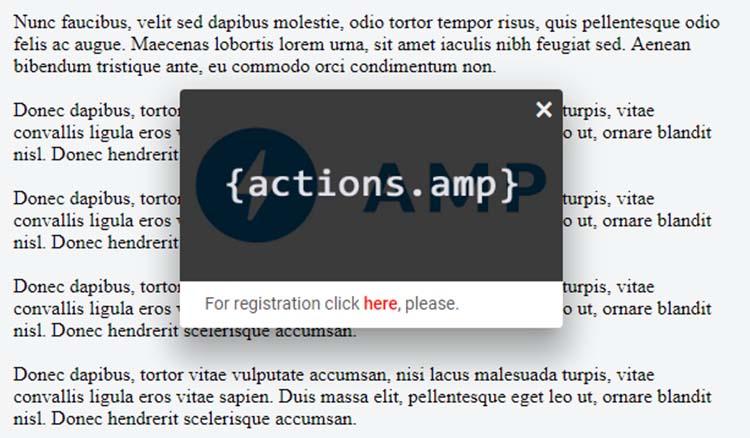 Membuat Popup Notification Box Muncul Ketika Buka Blog Untuk AMP HTML