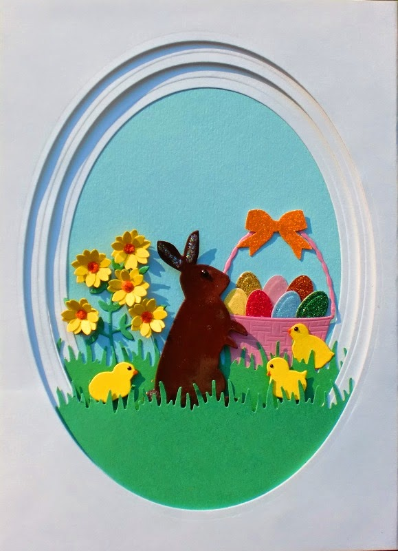 Charmingly Creative: Panorama Easter Card - photo#2