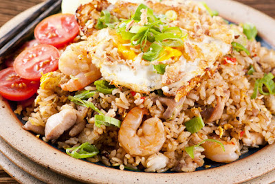 Nasi Goreng, Fried Rice, Kuliner Cirebon, Strawberry Delight