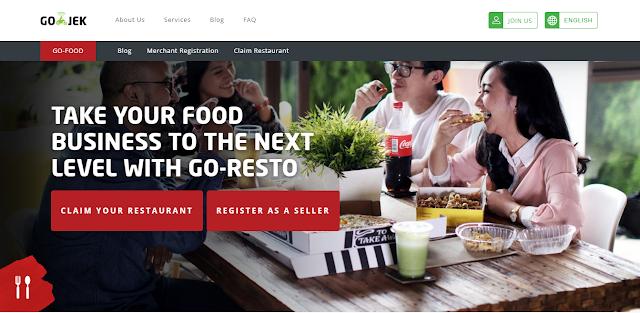 cara pesan makanan siap saji via Go-Food