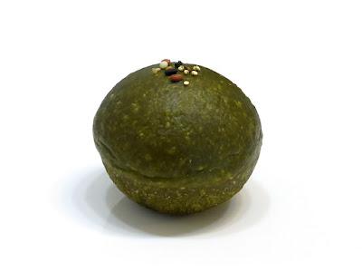抹茶の粒あんぱん | ecomo BAKERY(エコモベーカリー)