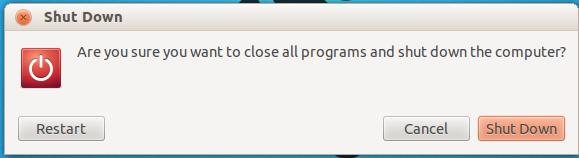 Keyboard Shortcut to Shutdown Ubuntu