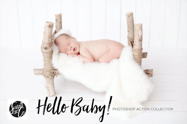 photoshop action anak kecil dan bayi