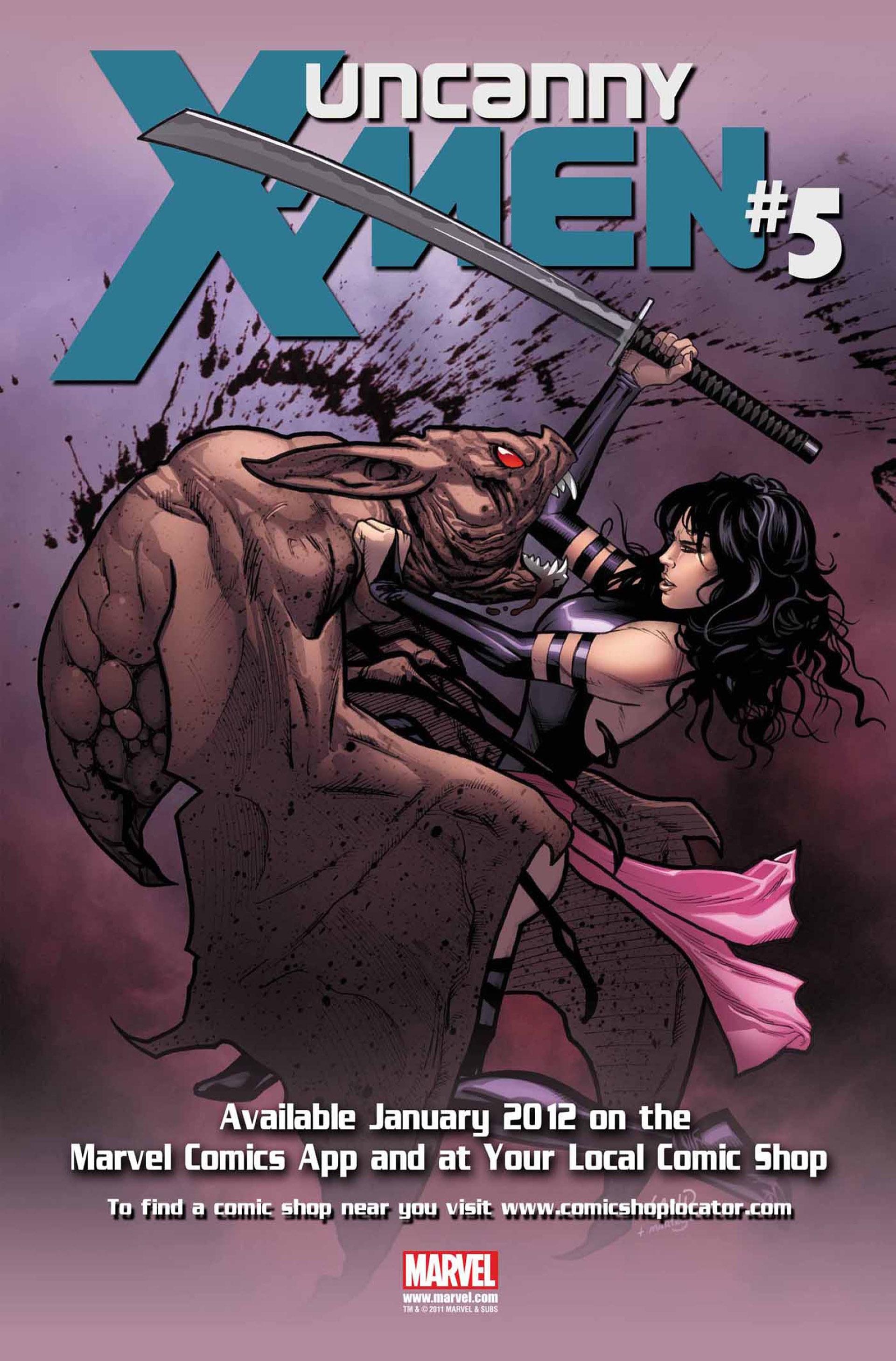 Read online Uncanny X-Men (2012) comic -  Issue #4 - 24
