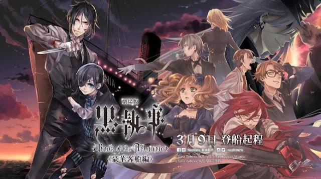 Kuroshitsuji (Black Buttler) - Anime Buatan Studio A-1 Pictures Terbaik