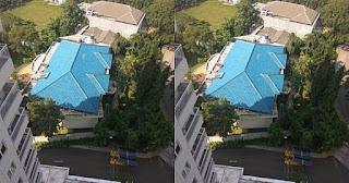Foto Rumah Mewah ini Jadi Viral, Gara gara diisengi oleh Tukang Bangunanya. Kamu Bisa Temukan Kejanggalannya!