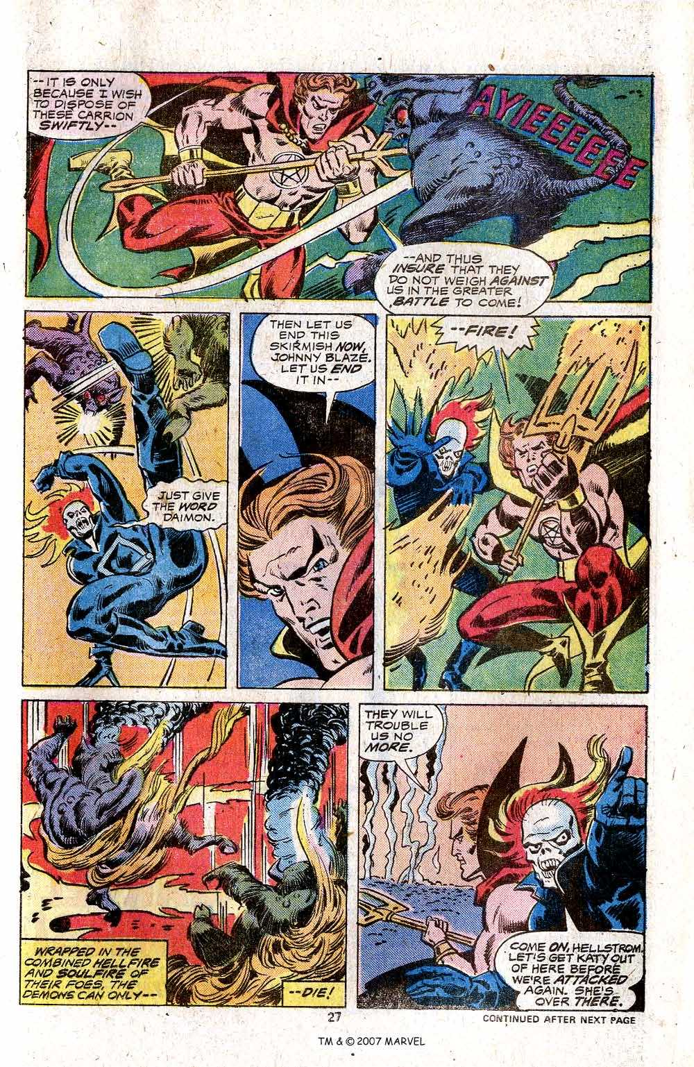 Ghost Rider (1973) Issue #17 #17 - English 29