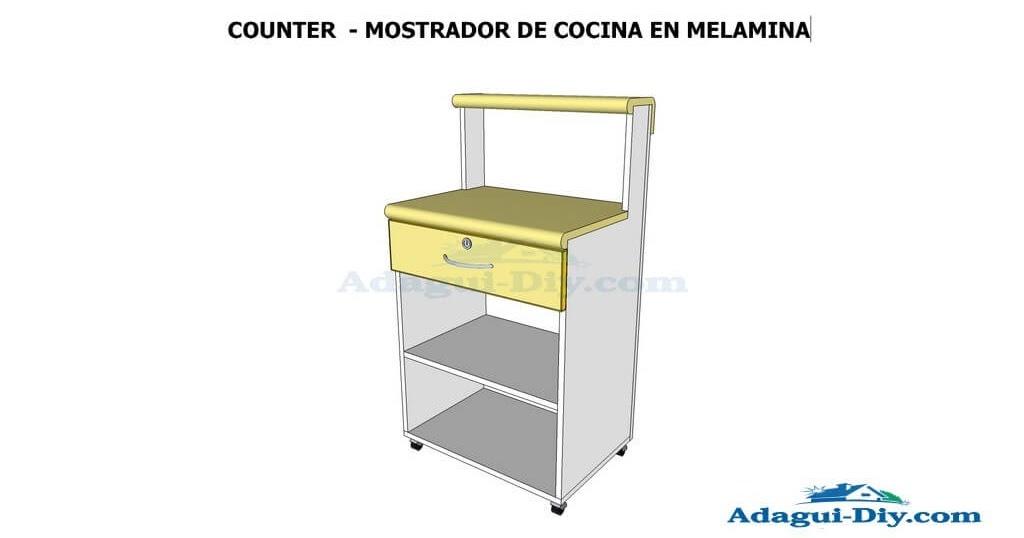 Diagrama e im genes planos con medidas de mueble auxiliar for Curso de carpinteria en melamina pdf