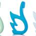 $3.72 (Reg. $7.45) + Free Ship Baby Swan Teether Training Toothbrush!