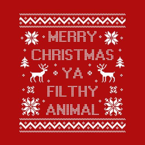 Merry Christmas Ya Filthy Animal Merry Christmas Ya