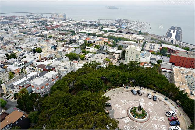 Vistas desde el Observatorio de la Torre Coit de San Francisco