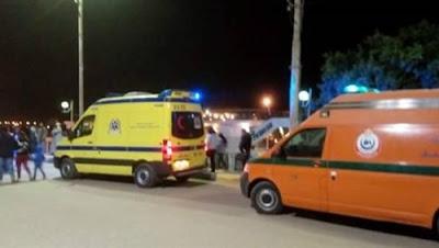 مصرع وإصابة 16 شخصا في حادث بالمنيا بسبب الطقس السيئ