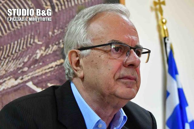 Βαγγέλης Αποστόλου: Στο τελευταίο στάδιο η τροπολογία για την κατάργηση του ΕΦΚ στο κρασί
