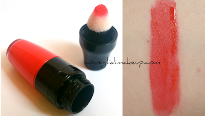 swatch matte shaker magic orange