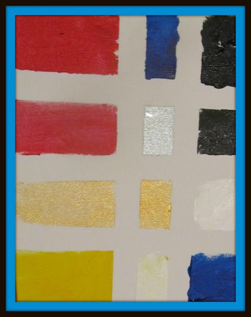 Mondrian Inspired Art Projects for Kids