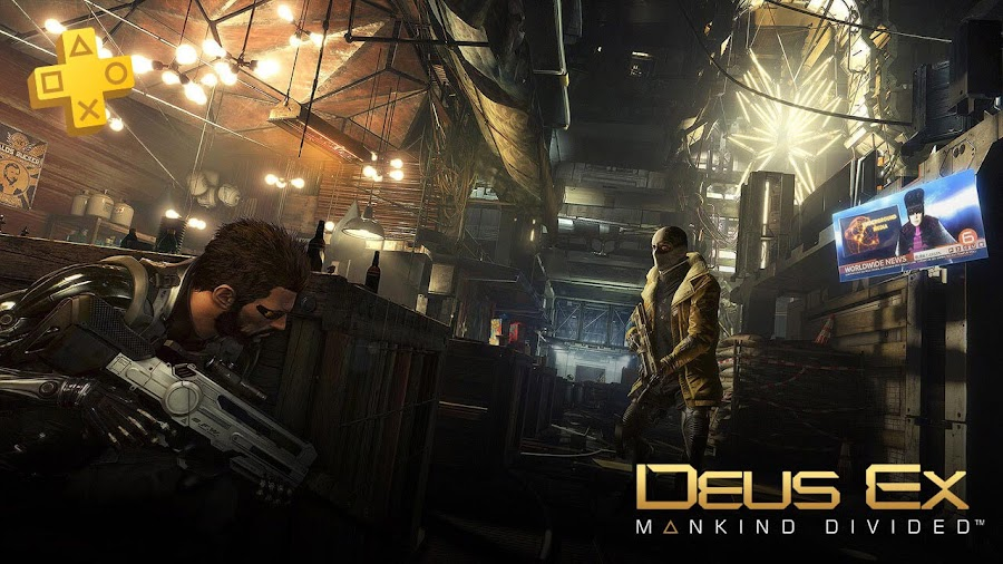 deus ex mankind divided playstation plus